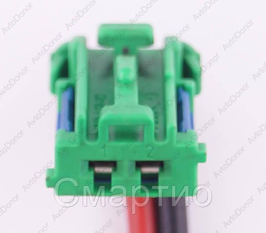 Разъем электрический 2-х контактный (17-10) б/у