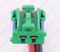 Разъем электрический 2-х контактный (17-10) б/у, фото 1