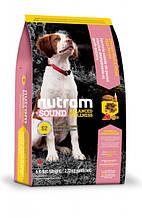 Корм NUTRAM (Нутрам) Sound Balanced Wellness Puppy холистик для щенков с курицей, 5 кг (ведро)