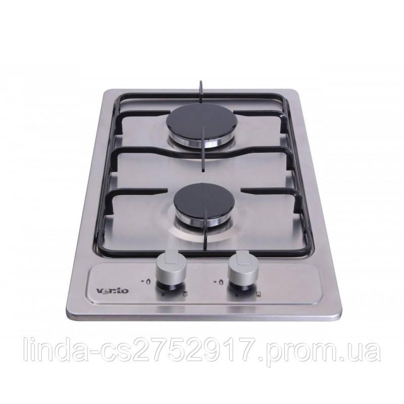 Варочная поверхность газовая VentoLux HG320 EE (INOX) 2