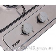 Варочная поверхность газовая VentoLux HG320 EE (INOX) 2, фото 2