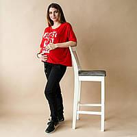 Черные спортивные штаны для беременных 42-54 р