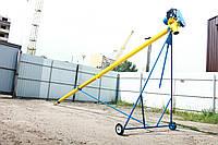 Шнековый погрузчик (транспортер, конвейер, шнек) Ø130*6000*380В