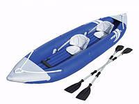 Каяк, байдарка, каное фірми Bestway HydroForce двомісний +насос+весло