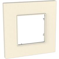 Рамка 1-постовая внешняя Schneider Electric Unica Quadro Серо-жемчужный (MGU4.702.35)