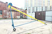 Шнековый погрузчик (транспортер, конвейер, шнек) Ø130*8000*380В