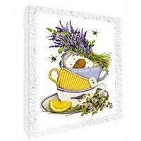 Декупаж картина Чай для любимой Идейка 94707
