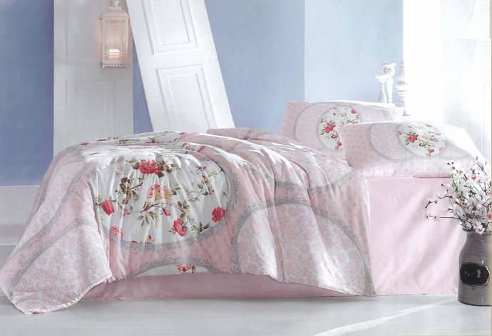 Двуспальный евро комплект постельного белья из ранфорса