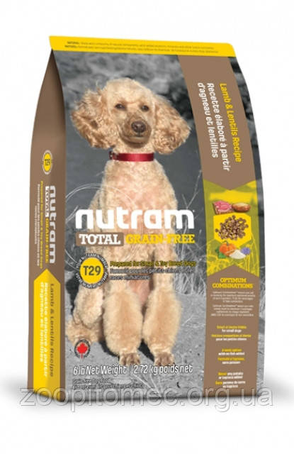 Корм NUTRAM (Нутрам) Total GF Lamb Small Dog холистик для собак мелких пород с ягненком, 2 кг