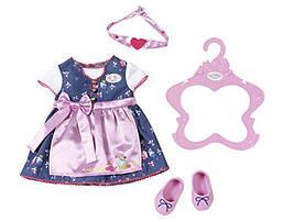 Одежда для кукол Беби Борн Baby Born костюм для девочки Баварский Новинка 2018 Zapf Creation 824504