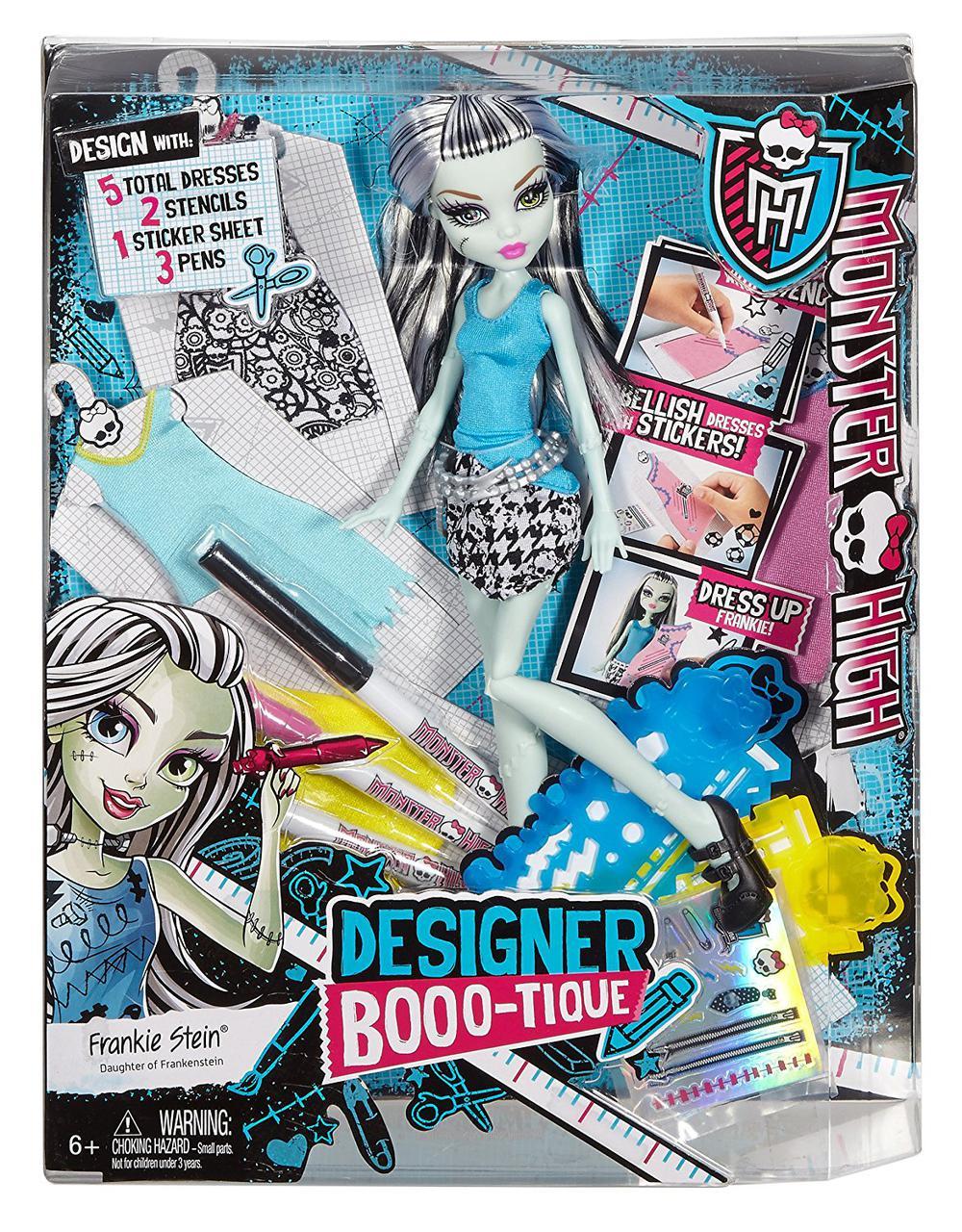 Кукла Monster High  Дизайнерский бутик Фрэнки ШтейнDesigner Booo-tique Frankie