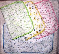 Пелёнка непромокашка, р.40*60, разные цвета
