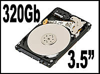 "HDD SATA 320Gb 3,5""  Жесткий диск Винчестер Оптом Гуртом"