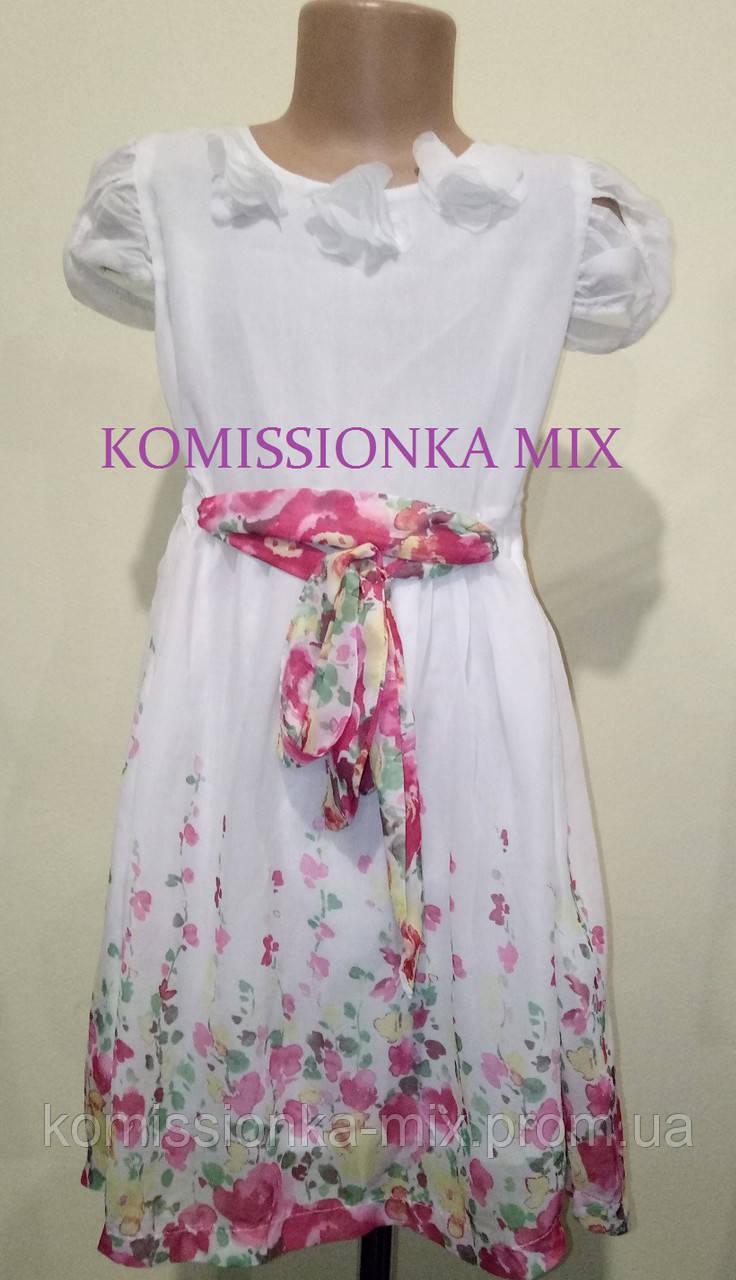 Платье воздушное  140 рост (Новое)