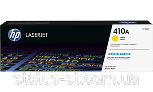 Заправка картриджа HP 410A yellow CF412A для принтера Color LaserJet Pro MFP M477fdw, M452dn