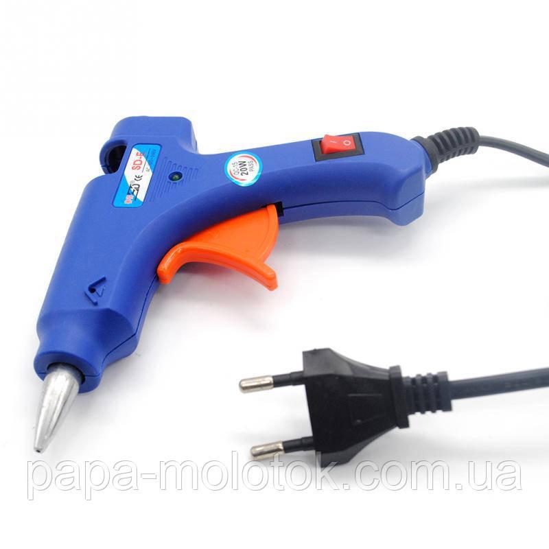 Пистолет для термоклея электрический 20 Вт
