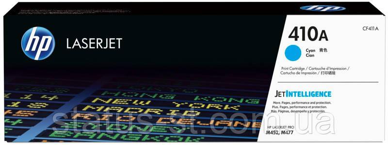 Заправка картриджа HP 410A cyan CF411A для принтера Color LaserJet Pro MFP M477fdw, M452dn, M452nw, фото 2