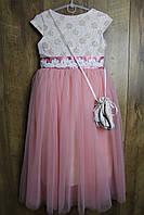 Нарядное платье для девочек. 128 рост