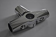 """Система труб Джокер 25мм соединение Т-образное """"хром"""", фото 1"""