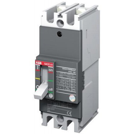 Автоматический выключатель ABB Formula A1N 125 TMF 80-800 2p F F, 1SDA066504R1