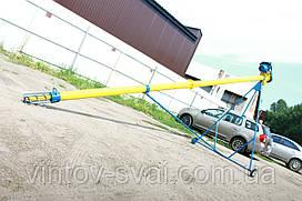 Транспортер шнековий (навантажувач, конвеєр, шнек) Ø159*2000*380в