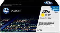 Заправка картриджа HP 309A yellow Q2672A для принтера Color LaserJet 3550, 3500, 3700 в Киеве
