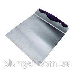 Шпатель кондитерський металевий, великий