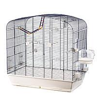 Клетка для попугаев Inter Zoo Sara Color + аксессуары  (780x480x790см)