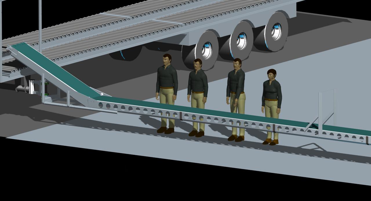 конвейер сборки мостов