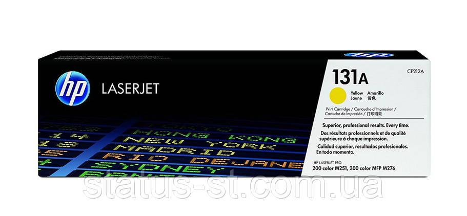 Заправка картриджа HP 131A Yellow CF212A для принтера LaserJet Pro 200 color MFP M276n, M276nw, M251n, M251nw, фото 2