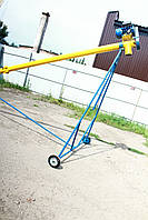Транспортер шнековий (навантажувач, конвеєр, шнек) Ø159*6000*380в