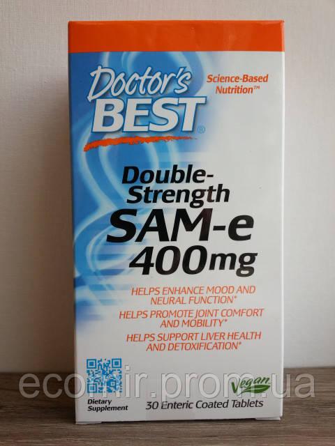 """""""SAM-e"""", Doctor's Best (400 мг / 30 таблеток)"""