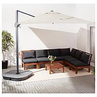Садовый подвесной зонт SEGLARO / SVARTO