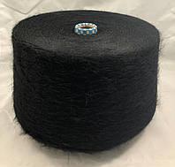 KAPPA 1/10 №9900 Состав:60% акрил,10% полиэстер,15%PBT,15%мохер Пряжа в бобинах для машинного и ручного вязани