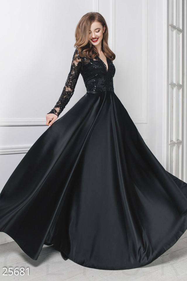 8dce44dbd0c Вечернее платье юбка пышная из королевского атласа длинная длинный ...