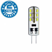 Светодиодная лампа DELUX G4E 1,5W 110Лм 3000K 12В G4 (90003757)