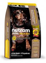 Корм NUTRAM (Нутрам) Total GF MINI Turkey Chiken Duck холистик для собак мелких пород (3 вида птицы), 6,8 кг