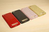 Переливающийся силиконовый чехол для Xiaomi Redmi 4A (Разные цвета)