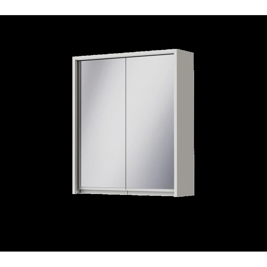 Зеркальный шкаф Ювента Savona SvM-60 белый, 600х180х700 мм