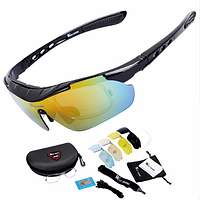 Очки для велоспорта West Biking Polarized 5 сменных линз
