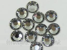 Стразы Swarovski черный диамант, SS3 (1400 шт) в баночке