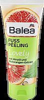 Скраб-пиллинг для ног с мятным маслом и экстрактом апельсина Balea Fußpeeling Lovely, 100 ml