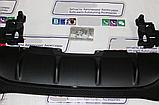 Диффузор заднего бампера на Mercedes GLE W166 AMG, фото 7