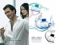 Antonio Banderas Splash Seduction Black Men. Eau De Toilette 100 ml/Мужская туалетная вода Сплэш Седакшн 100мл