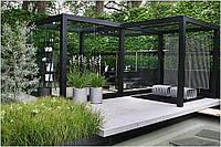 3d модель беседки в саду
