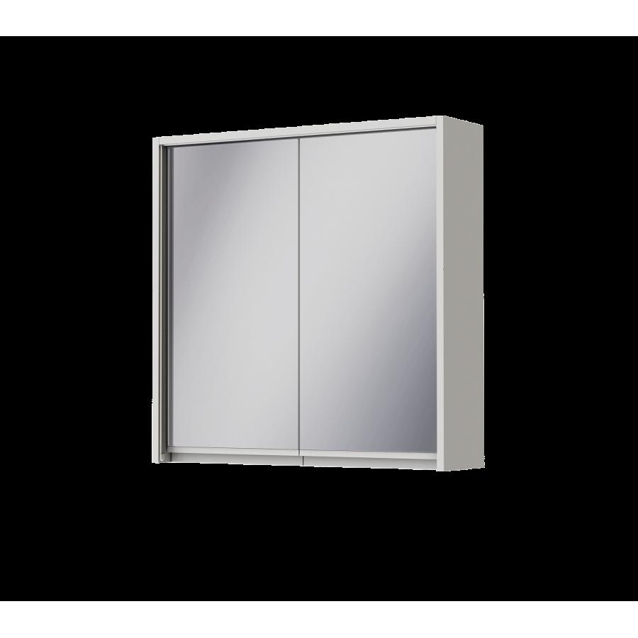Зеркальный шкаф Ювента Savona SvM-70 белый, 700х180х700 мм