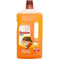 Средство для мытья паркета и ламината Passion Gold, лимон 1л