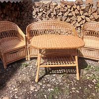 Мебель из лозы с шухлядами