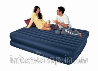 Надувная кровать Intex 66710 (152х203х48), фото 2