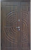 """Входная металлическая полуторная дверь в Одессе """"Портала"""" (Армекс) ― модель Греция, фото 1"""